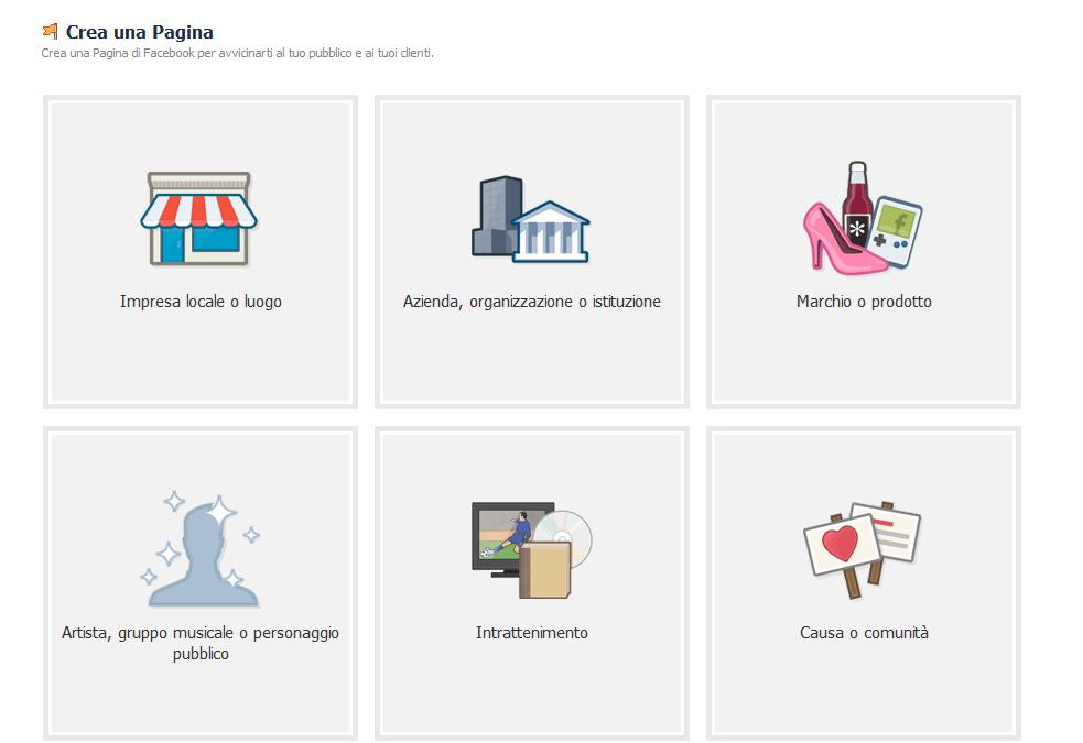 Come aprire una Pagina FACEBOOK