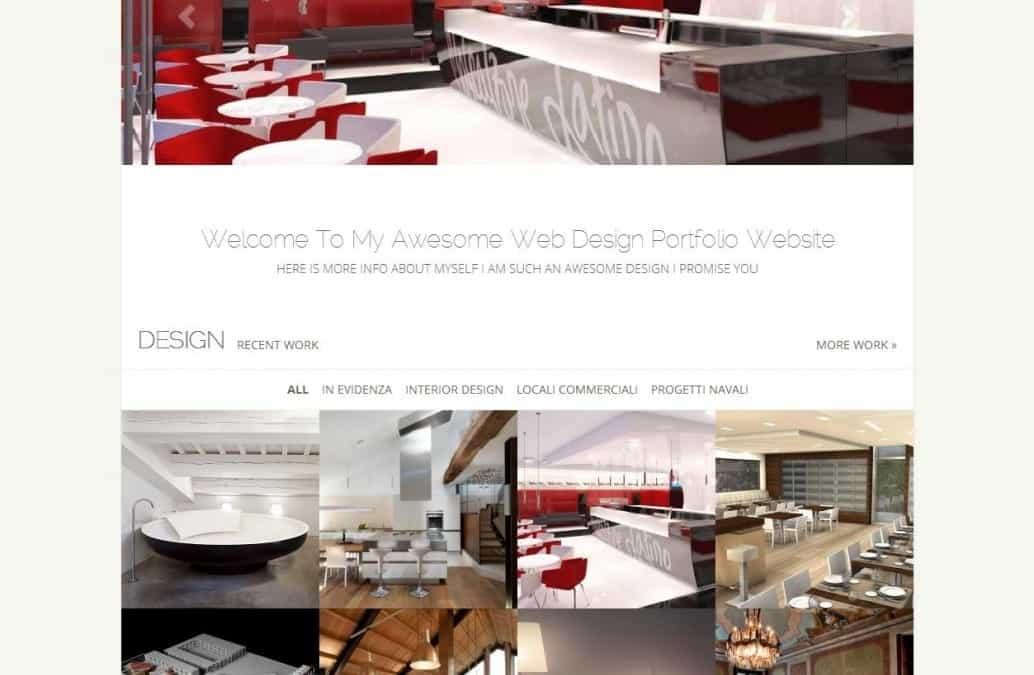 Nuovo sito Architetto Massimo Bergamin