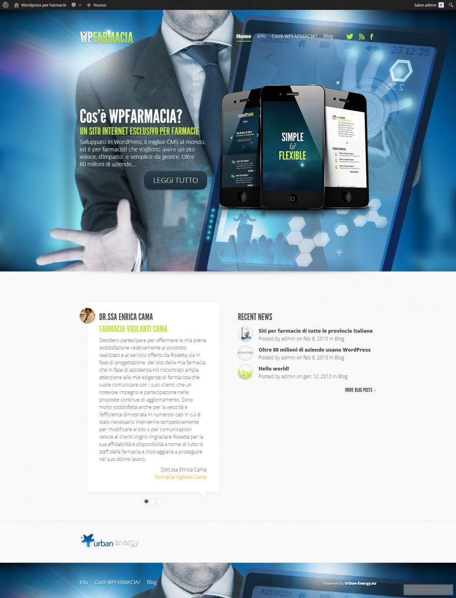 WP Farmacia.it – il sito web per farmacie