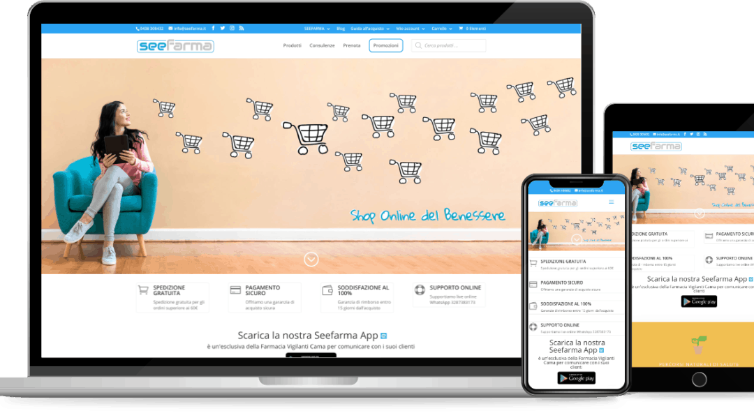 Seefarma E-Commerce
