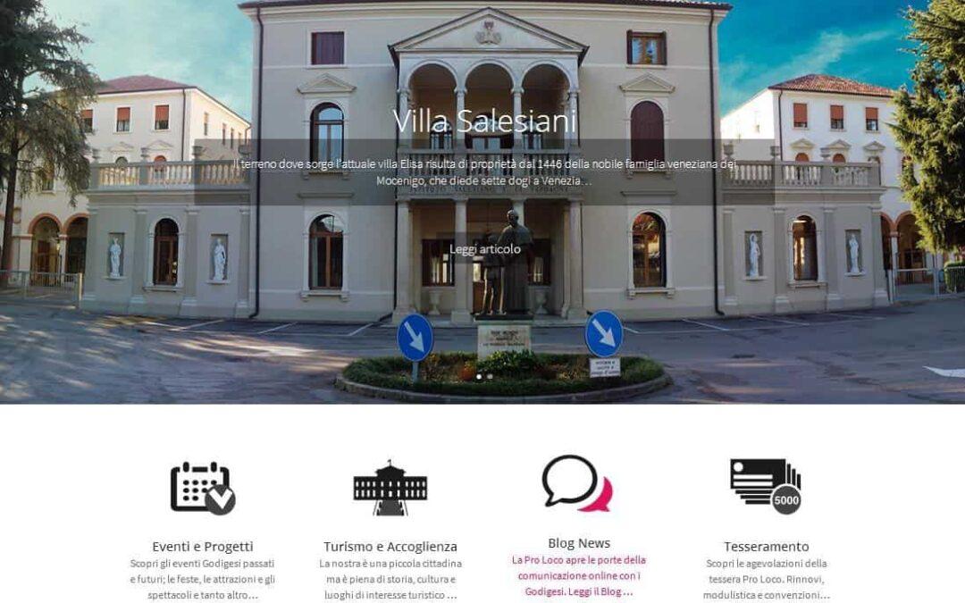 Restyling sito web Pro Loco Castello di Godego (TV)